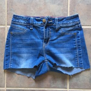 YMI Jean Shorts Cut Off/Altered from Jeans